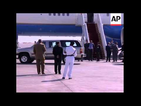 US Secretary of State, Defence Sec arrive
