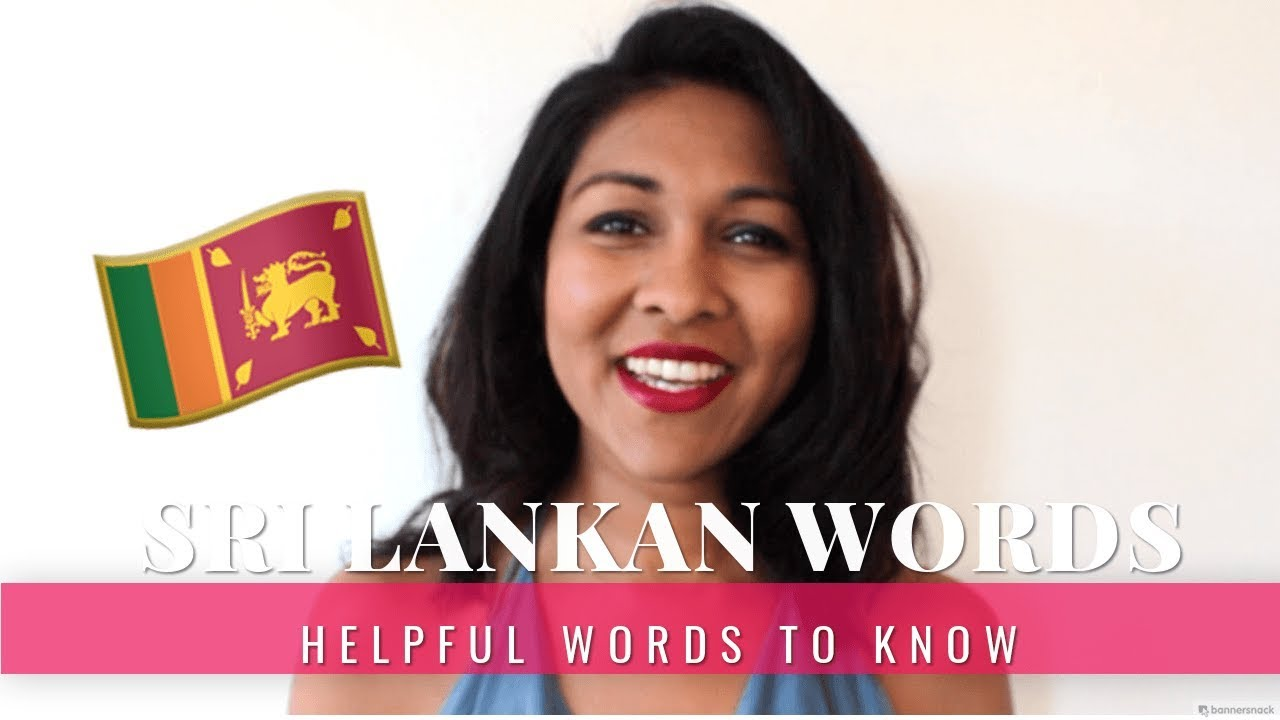 Sri Lankan Words to Know When Traveling
