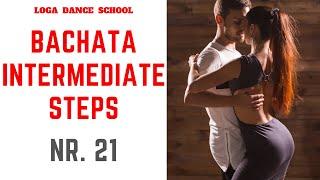 Learn Bachata Dance: Intermediate Steps #21 at Loga Dance School