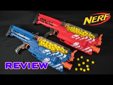 [REVIEW] Nerf Rival Nemesis MXVII-10K Unboxing, Review, & Firing Demo