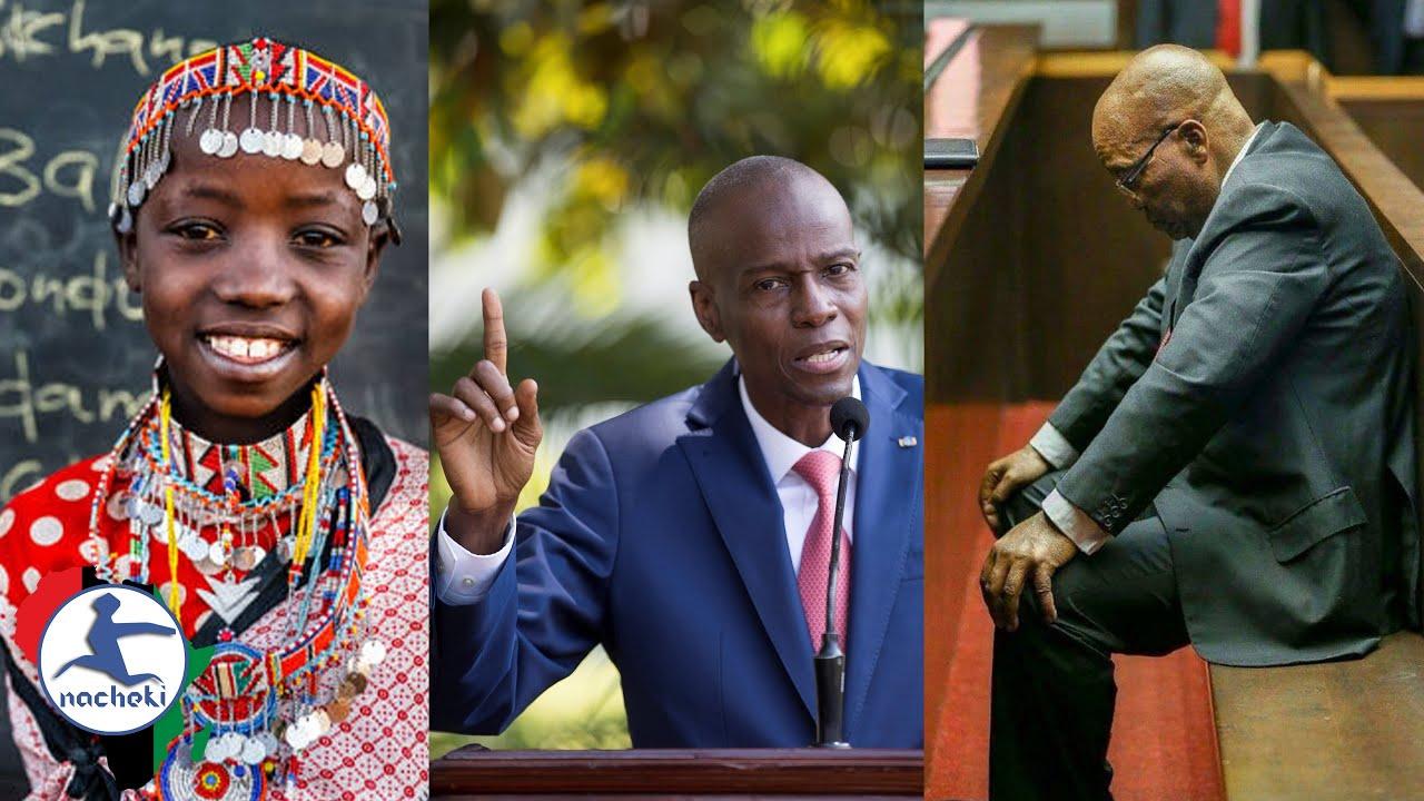Swahili to Unite Africa, Haiti President Assassinated, Zuma Hands Himself Over to Police