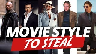 5 Awesome Movie Styles To Steal   Wearable Hollywood Men's Style