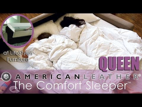 Queen Size Comfort Sleeper TM at LifeStyles Furniture from YouTube · Duration:  1 minutes 12 seconds