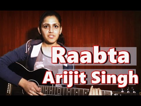 Raabta Guitar Lesson | Guitar Chords | Arijit Singh | Unplugged | Agent Vinod