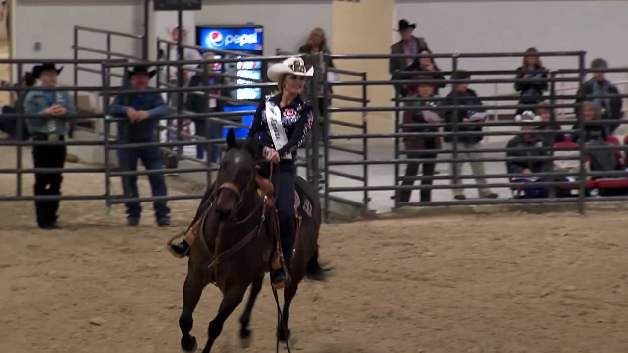 Miss Rodeo America Horsemanship Winner 2016 Youtube