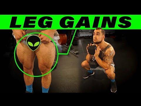 Dumbbell Goblet Squat | Maximize Leg Growth!