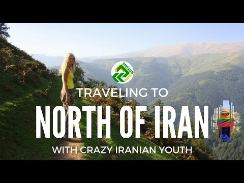 Traveling to the north of Iran together with crazy Iranian y