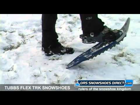 2011 Tubbs Flex TRK Snowshoes Video Review by ORS Snowshoes Direct
