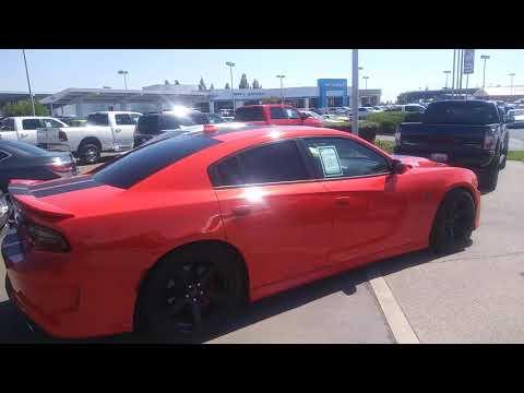 Orange Dodge Challenger Hellcat w/ Black Stripes Review
