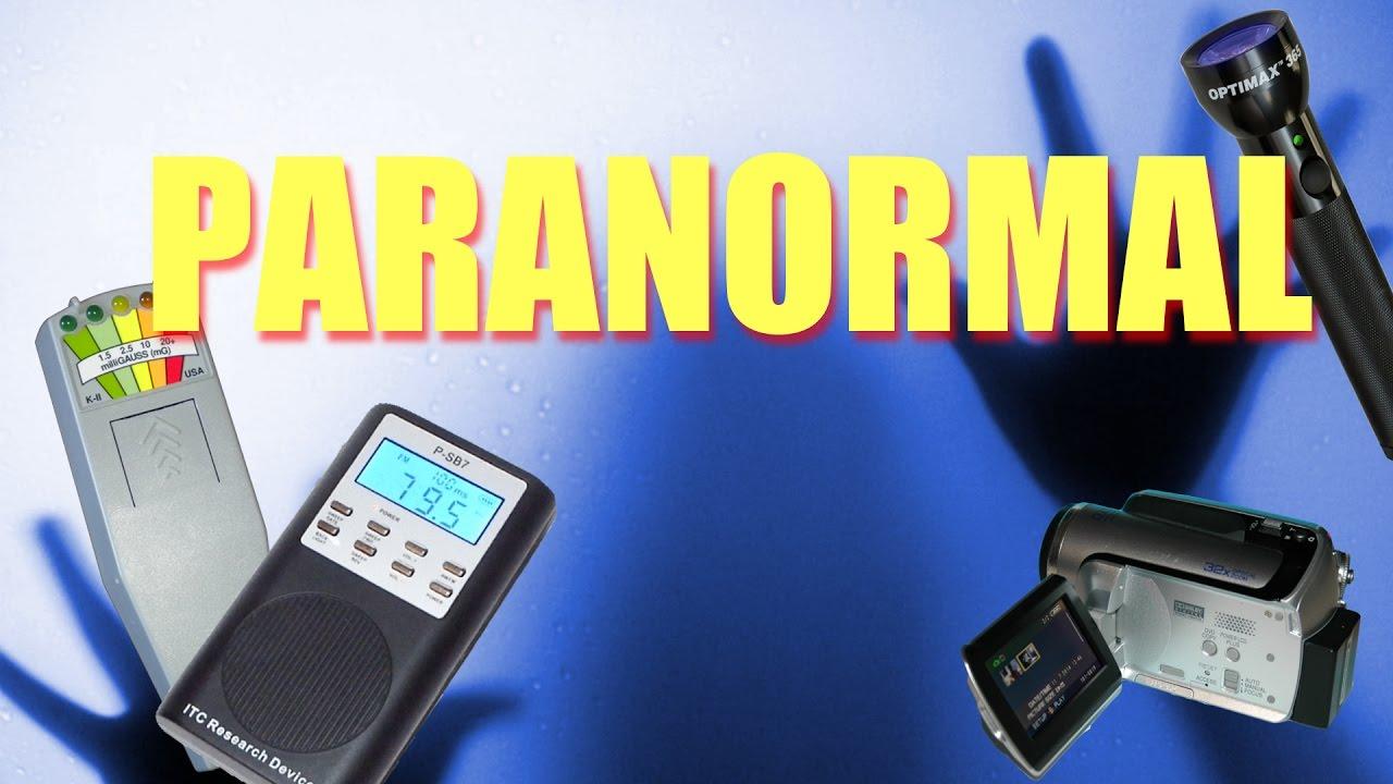 paranormal equipement
