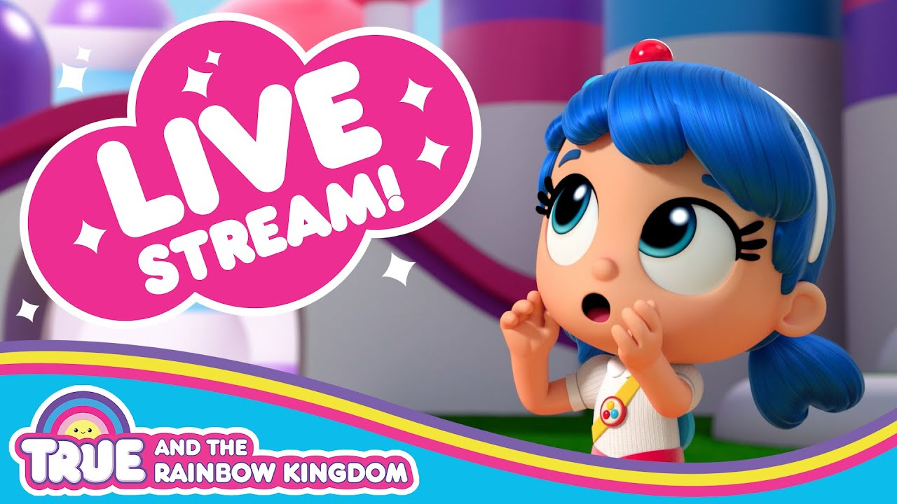True and the Rainbow Kingdom Official Channel 🌈 Season 2 Episode Compilation Live Steam 24/7