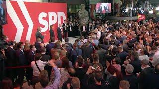 Фото Социал-демократическая партия выиграла парламентские выборы в Германии.