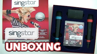 SingStar Media/Press Kit Unboxing
