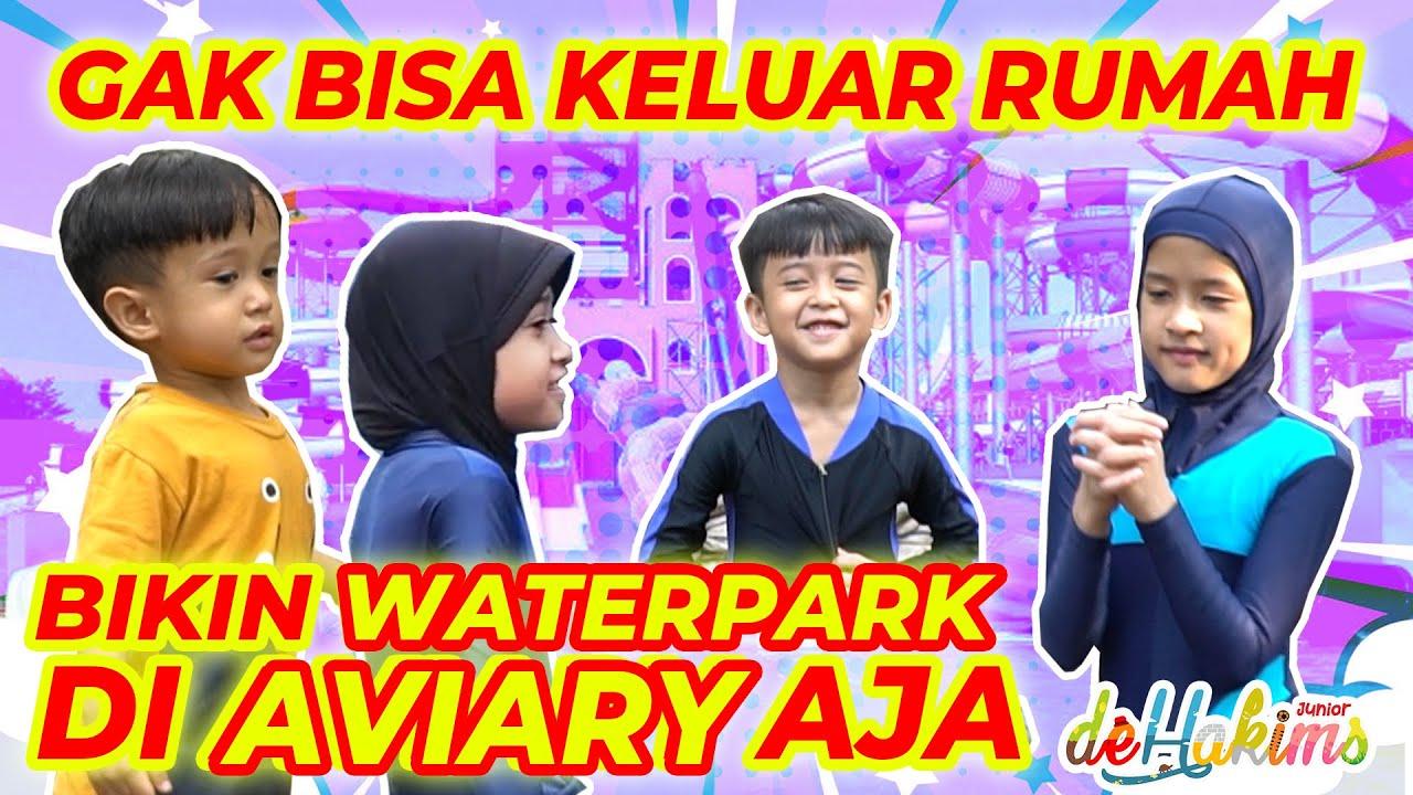 GAK BISA KELUAR RUMAH, AKHIRNYA BIKIN WATER PARK DI AVIARY!!