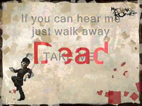 The End And Dead Lyrics And Chords Video My Chemical Romance Youtube