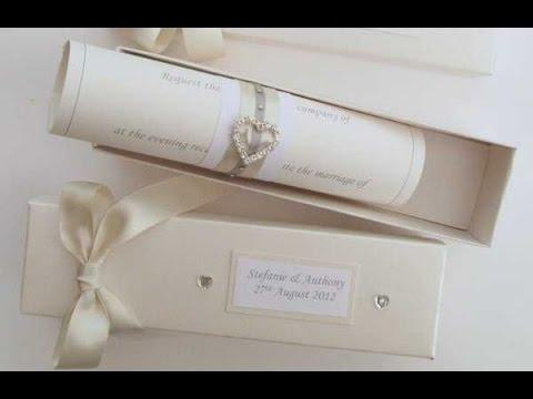 Tarjetas de invitacion para bodas vintage youtube - Modelos de tarjetas de boda ...