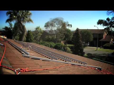 Solar Power Install Part 4: The Solar Panels
