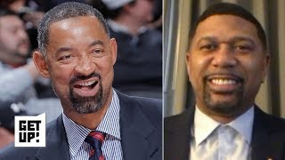 Jalen Rose nominates Juwan Howard to be Michigan's new head coach | Get Up!