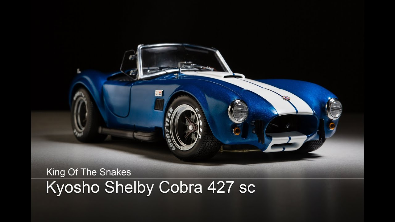 kyosho shelby cobra 427 sc youtube. Black Bedroom Furniture Sets. Home Design Ideas
