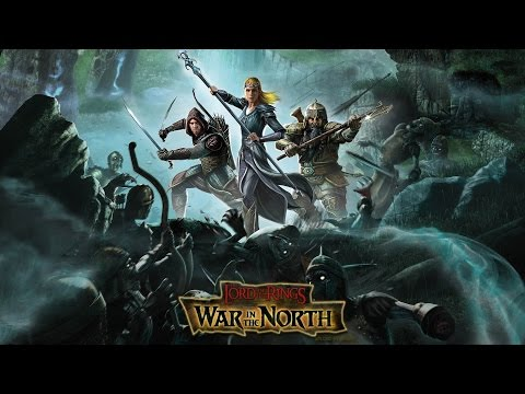 Coop прохождение The Lord Of The Rings War In The North Серия 1