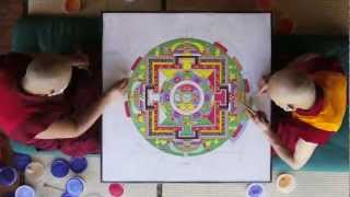 Tibetan Sand Mandala - Time Lapse - Asheville, North Carolina - Urban Dharma - GRAND PRIZE WINNER