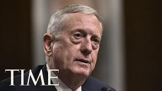 Donald Trump's Pick For Pentagon Chief James Mattis Says Russia Is Trying To 'Break' NATO | TIME