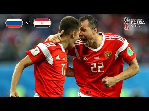 Russia Goal 1 v Egypt - MATCH 17