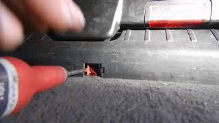 Ouverture manuelle coffre e46 touring