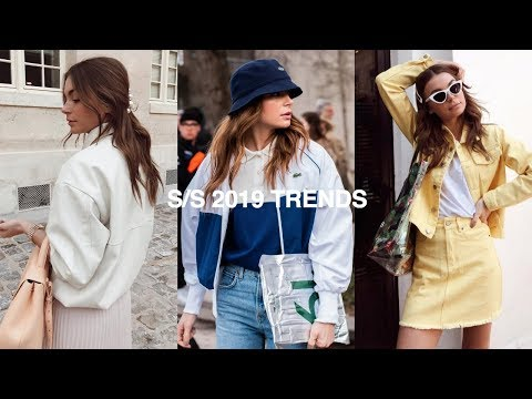 SPRING/SUMMER FASHION TRENDS 2019