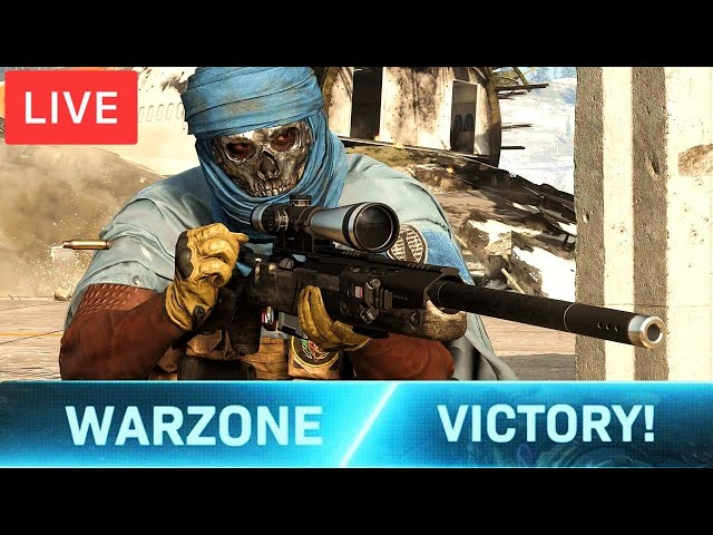 Call of Duty Warzone Season 6 LIVE - BEST SNIPER in WARZONE (Call of Duty: MW Battle Royale)