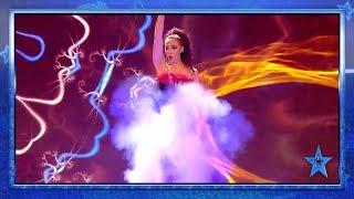 Esta MAGA escapa de una EXPLOSIÓN sin un rasguño | Semifinal 1 | Got Talent España 2019