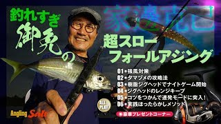 【アジング】釣れすぎ御免の超スローフォールアジング~家邊克己 thumbnail