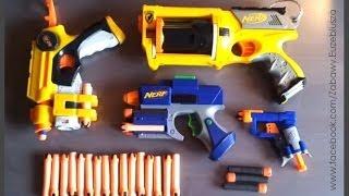Pistolety NERF Cz. #1 - zabawa dla dzieci i młodzieży | Vlog / Video blog