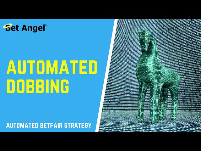 Betfair trading strategies | How to do AUTOMATED dobbing | Clearly explained