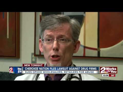 Cherokee Nation files lawsuit against drug firms