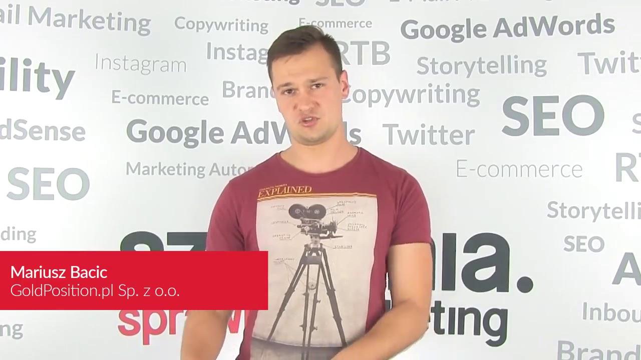 Szkolenia Google Analytics + Analytics PRO • Maciej Lewiński