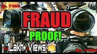 PROOF! Fraud in Chandni Chowk Kucha Chaudhary Dslr Market !
