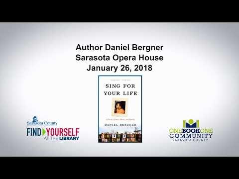 Author Daniel Bergner Sarasota Opera House January 26, 2018