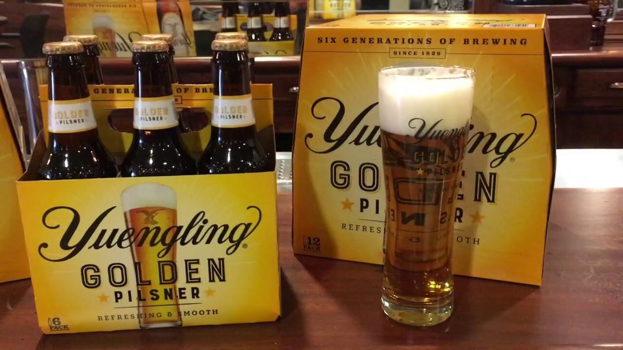 First look at Yuengling Golden Pilsner