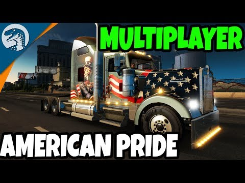 AMERICAN BIG RIGS ROLL OUT | American Truck Simulator Multiplayer Gameplay