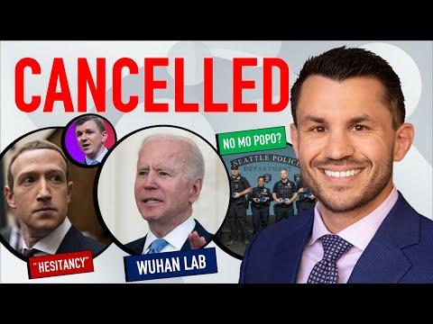 "Biden Cancelled Wuhan Investigation, Veritas on Facebook ""Hesitancy"", Seattle Loses 1/3rd of Police"