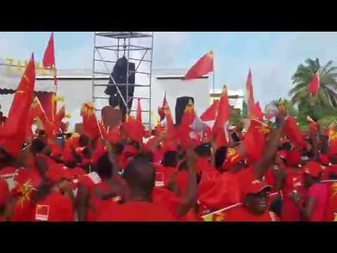 Anse Royale, RALLY, Parti Lepep, Seychelles, 2016