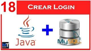 Crear Login en NetBeans [NetBeans con MySQL] [18/25]