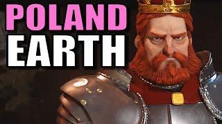 Civ 6: Poland Gameplay [True Start Earth Location Map] Let's Play Civilization 6 Poland | Part 6