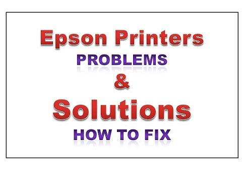 Epson Printers Problems , Solutions, Head Cleaninng, Resetters