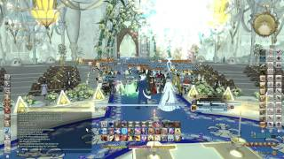 FFXIV ARR: Platinum wedding the two most beautiful Miqo