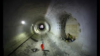 Drone Flight Under London's Streets | Earth Lab