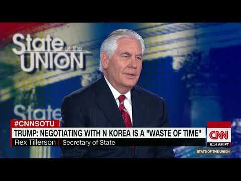 Tillerson: US wouldn't walk from N. Korea deal