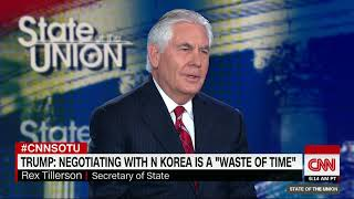 Tillerson: US wouldn