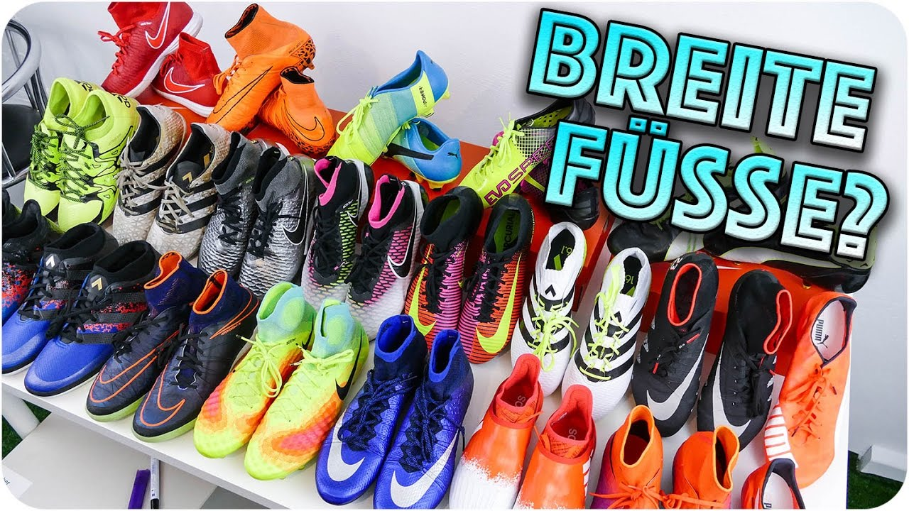 Which Football Boot For Wide Feet Welcher Schuh Fur Breite Fusse